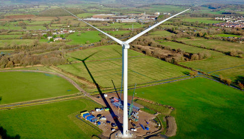 Clean Earth Magor turbine 15 Dec20 1a