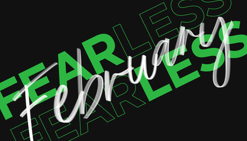 Fearless feb logo
